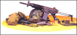 K1A 5.56 mm Sub Machine Gun