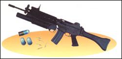 K201 40 mm Grenade Launcher